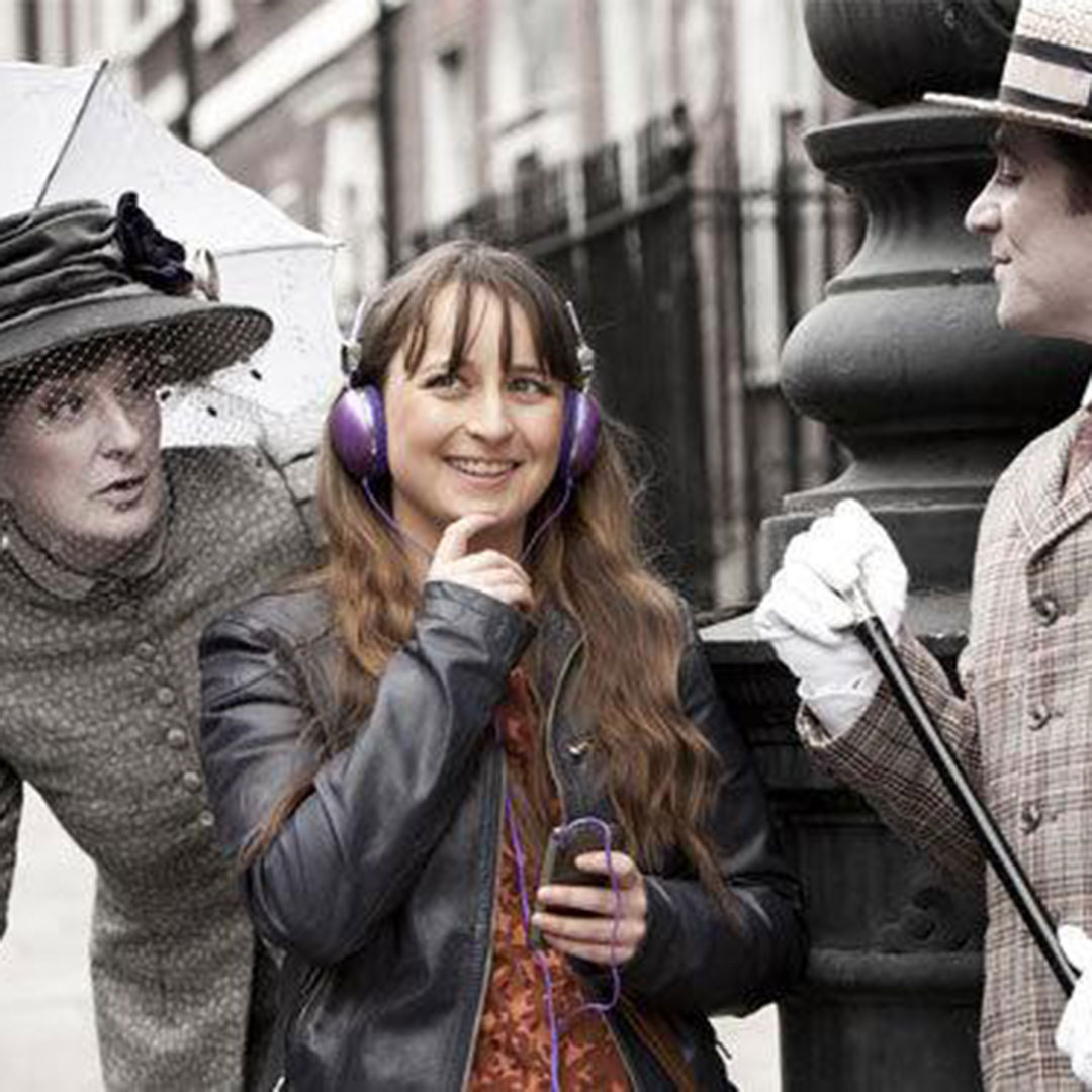 Audio guided tour of Dubliners by James Joyce