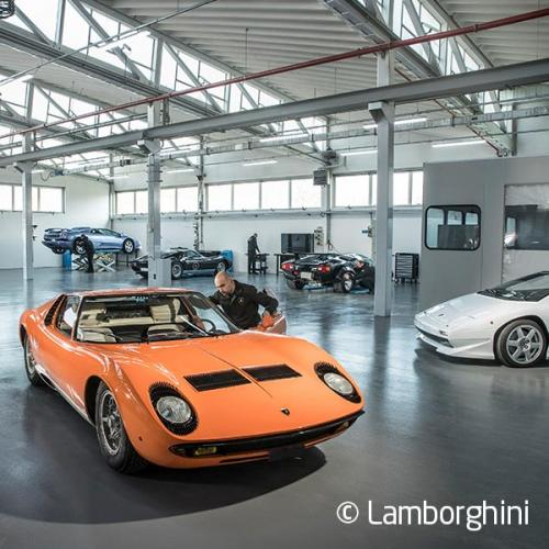 The Lamborghini Museum & Production Line Tour