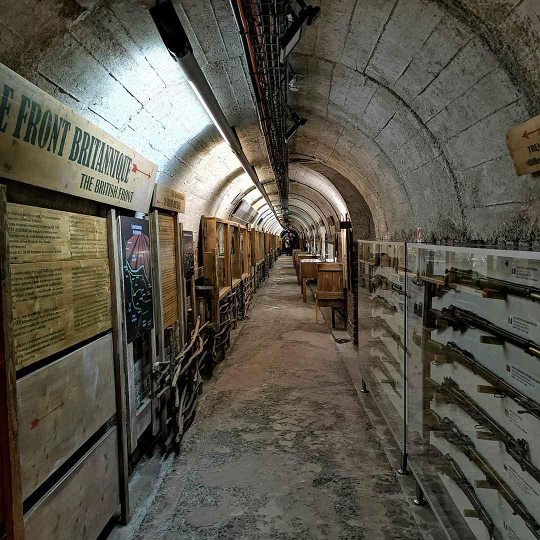 Somme 1916 Museum in Albert
