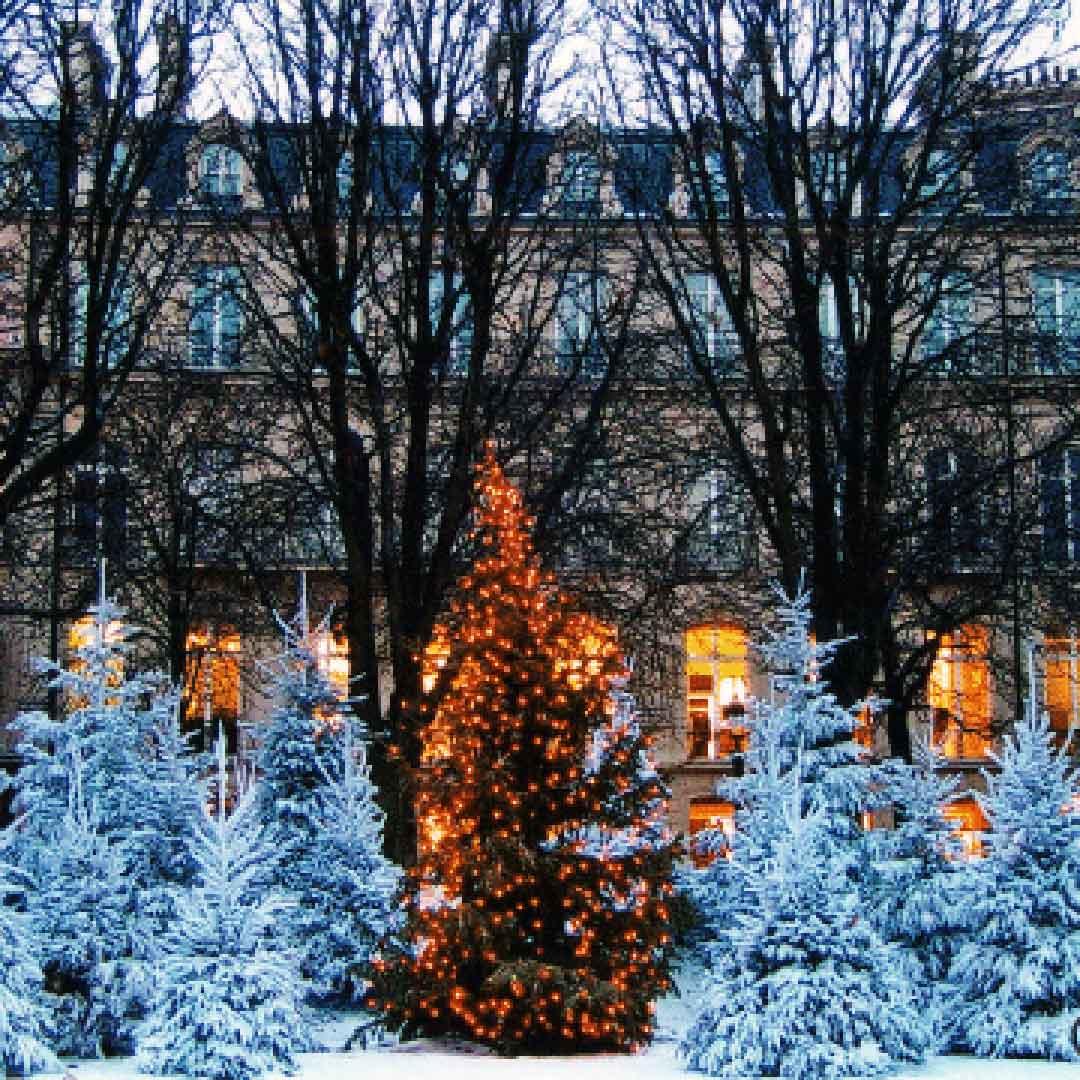 Saint-Germain-des-Parcs Christmas Market and Santa's Village