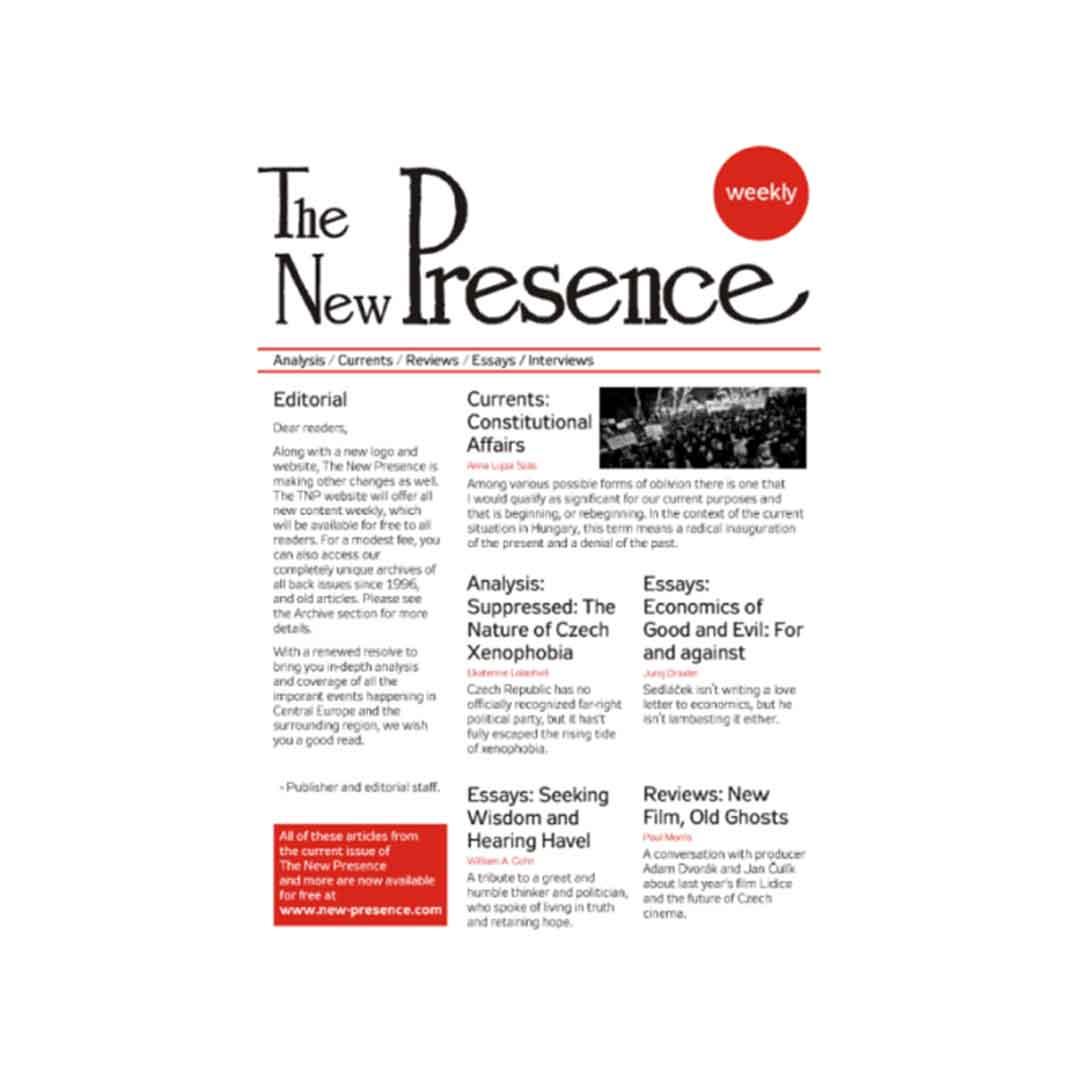 New Presence Magazine