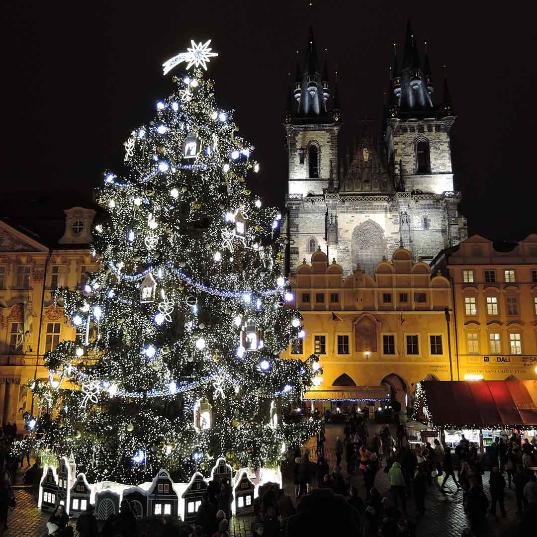Old Town Square Christmas Market
