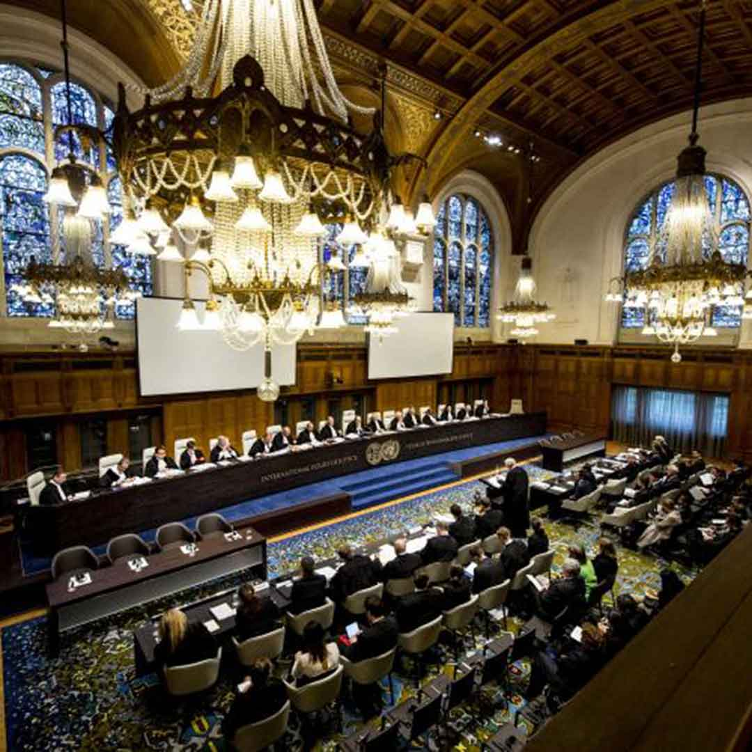 International Court of Justice The Hague