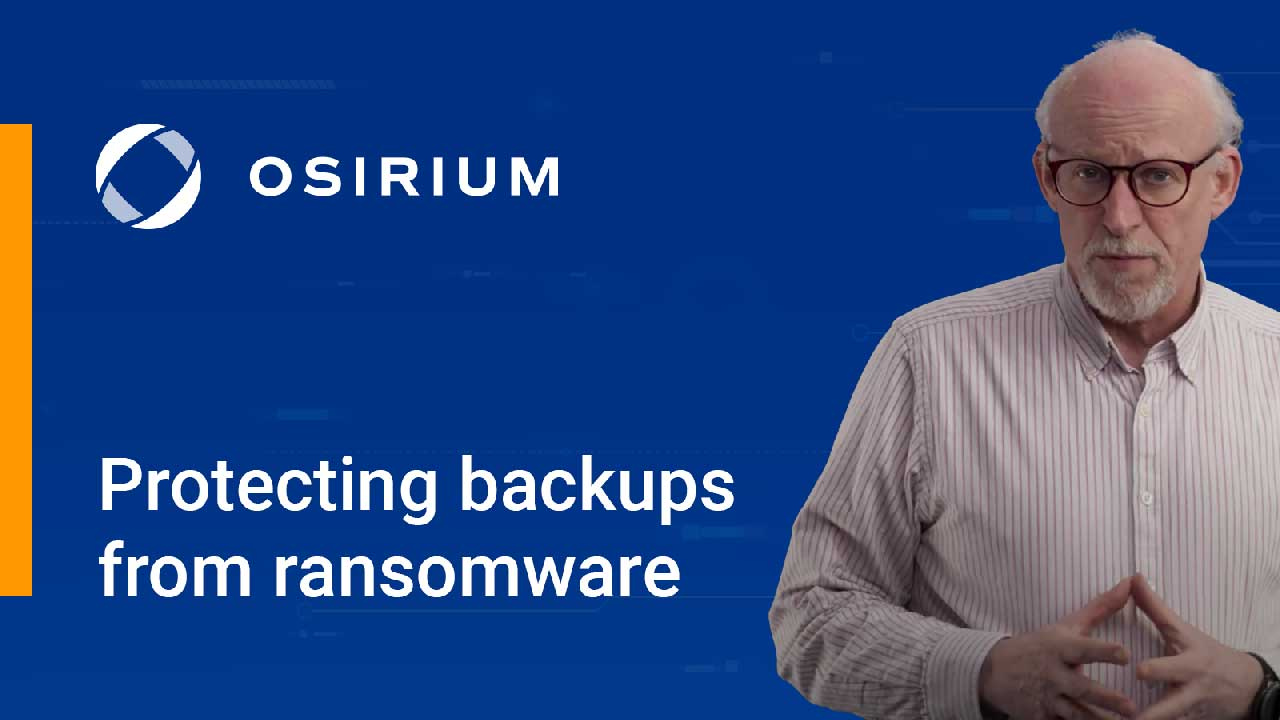 Video: Protecting backups from ransomware