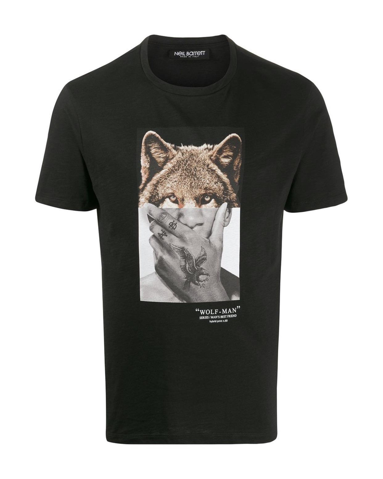 Wolf/Man T-Shirt