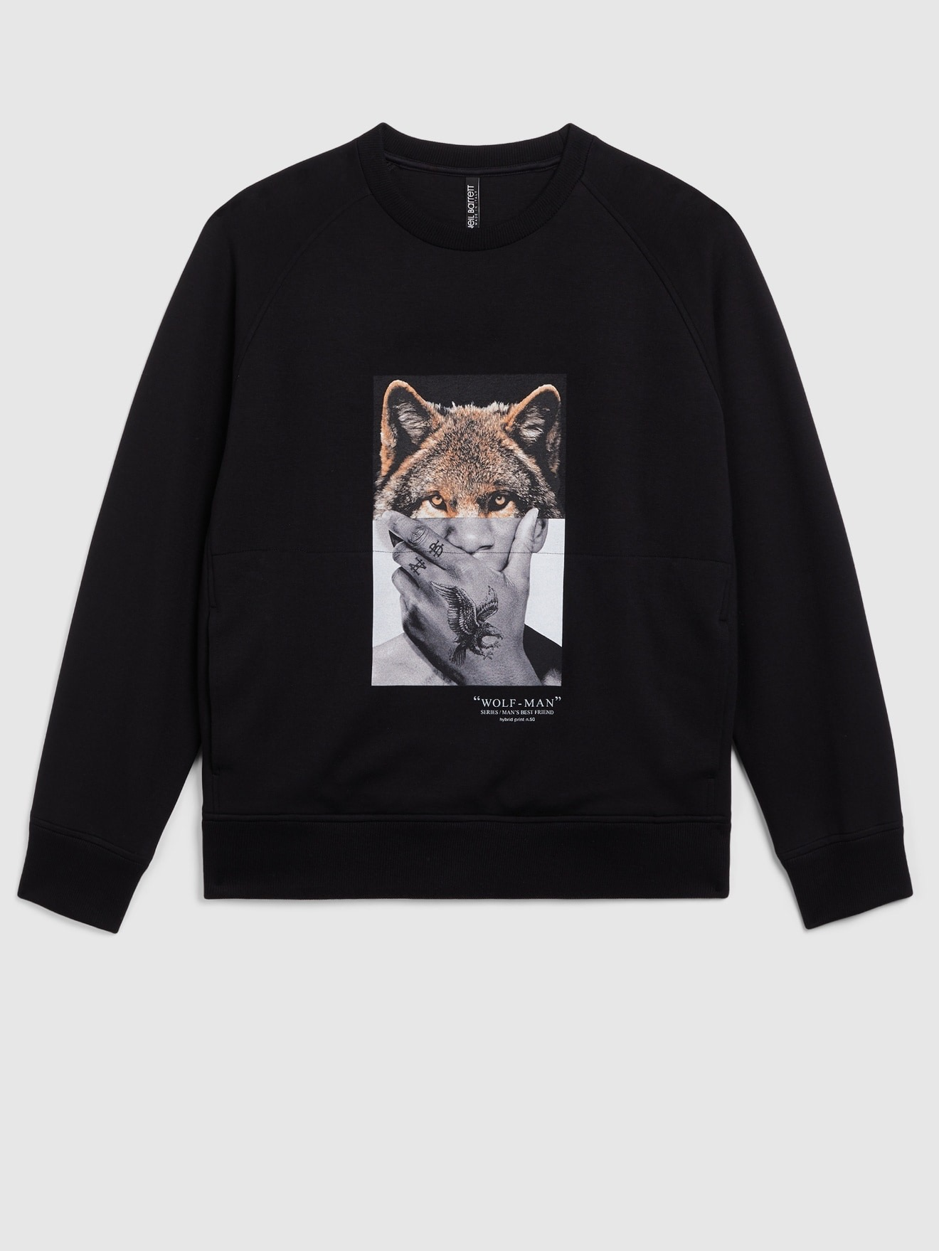 Wolf/Man Sweater