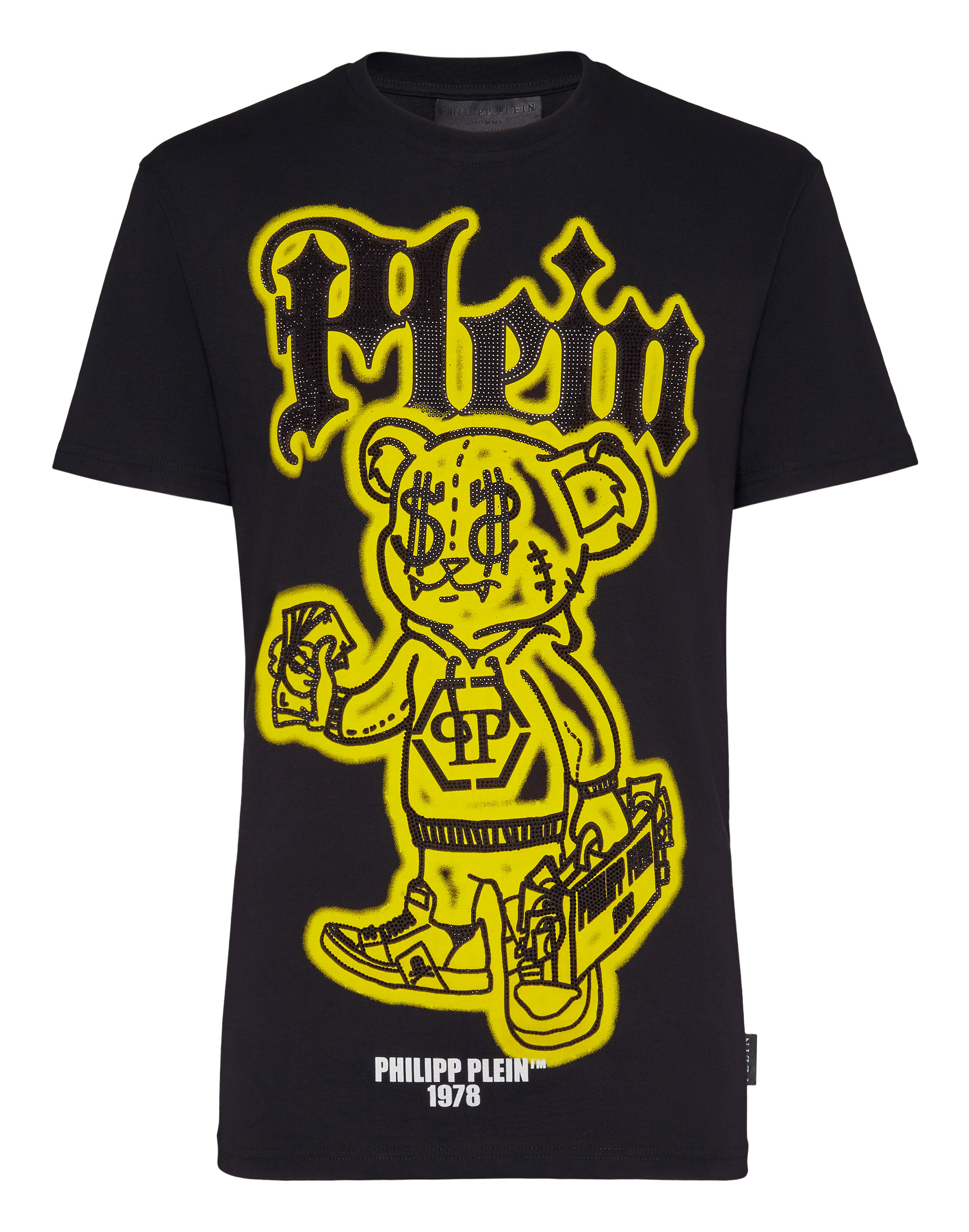 Round Neck SS Teddy Bear T-shirt