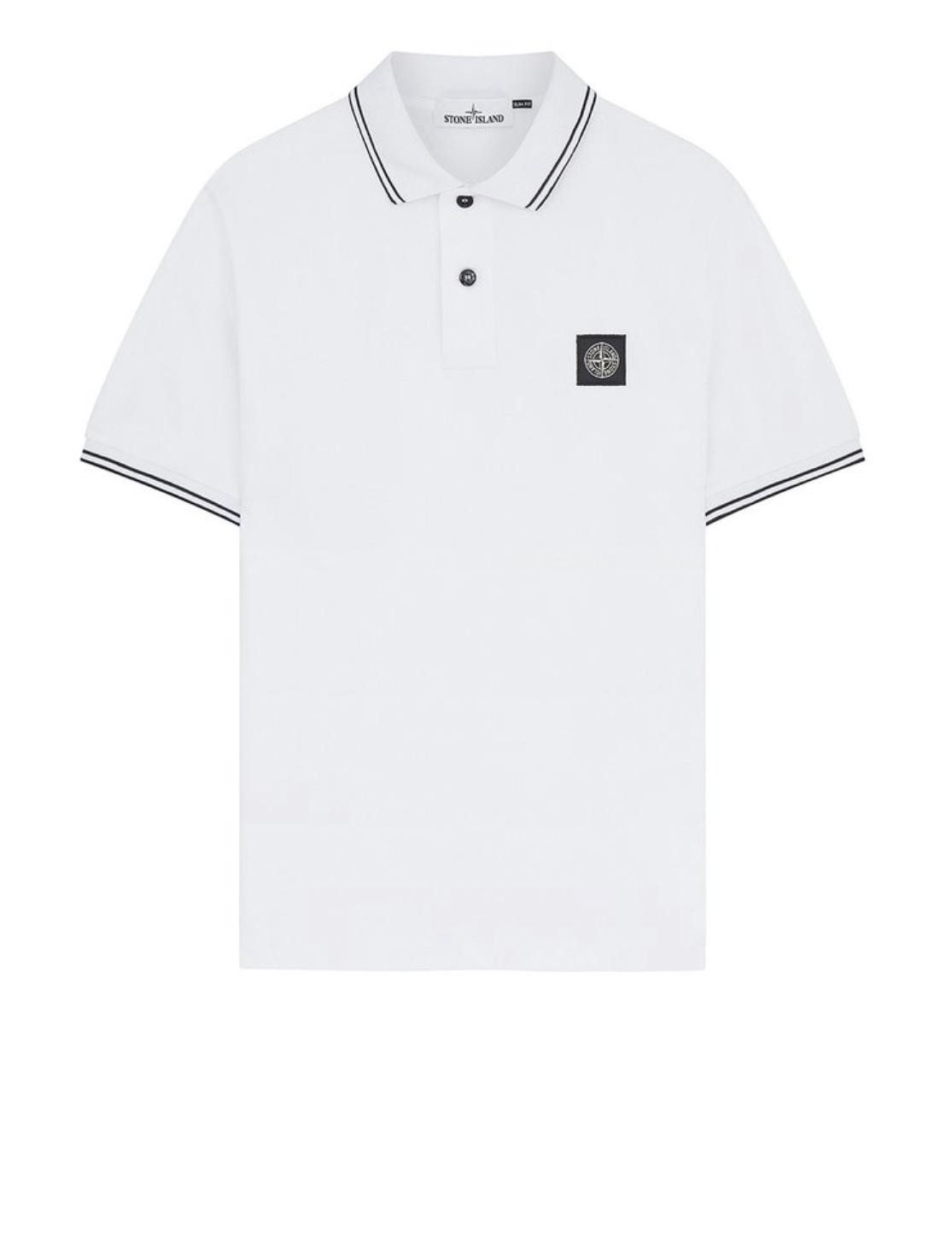 Polo Shirt In White