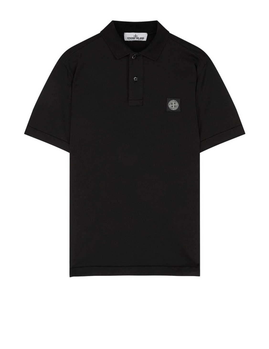 Polo Shirt In Black