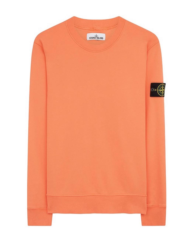 Sweatshirt In Orange Red