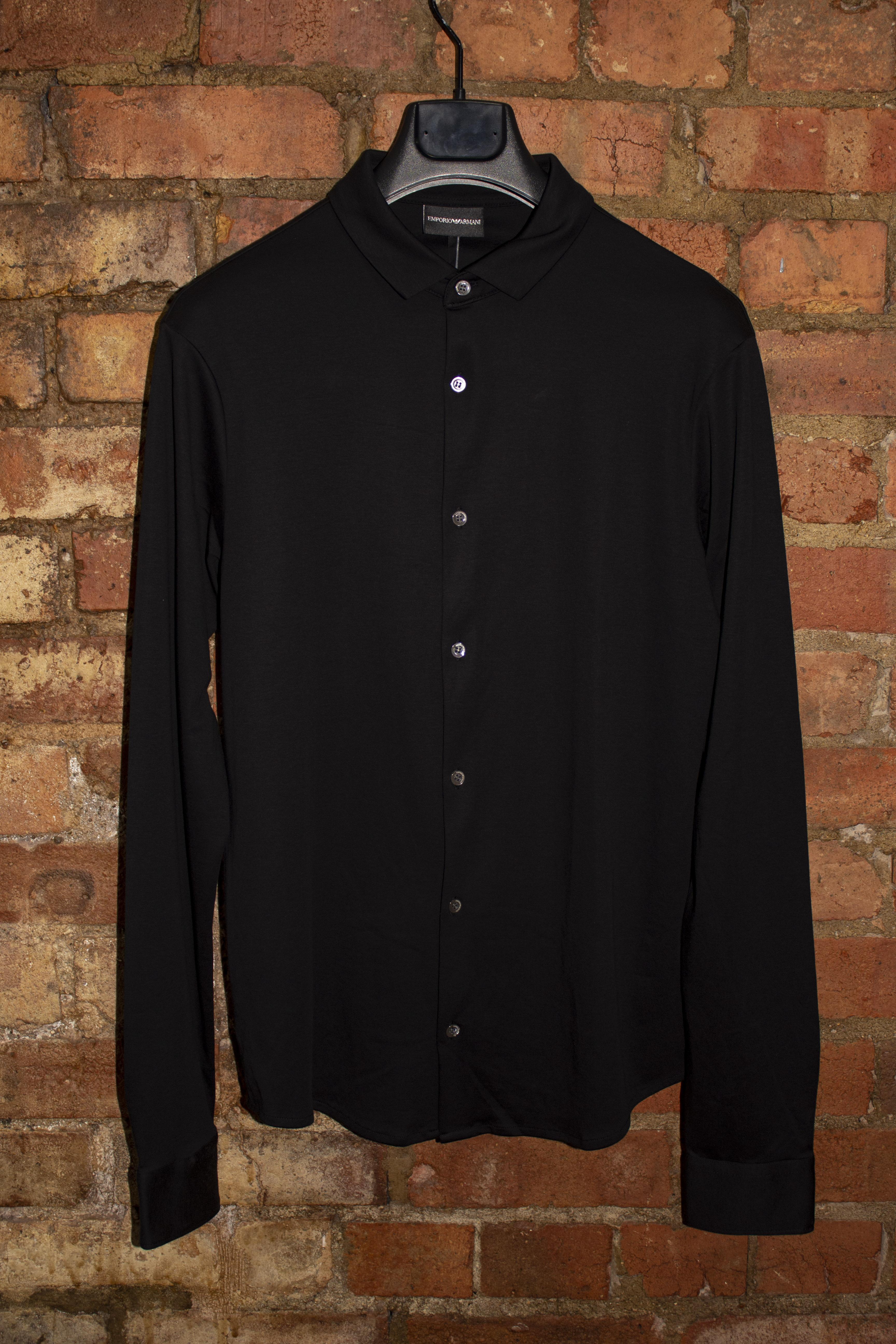 Black Jersey Shirt