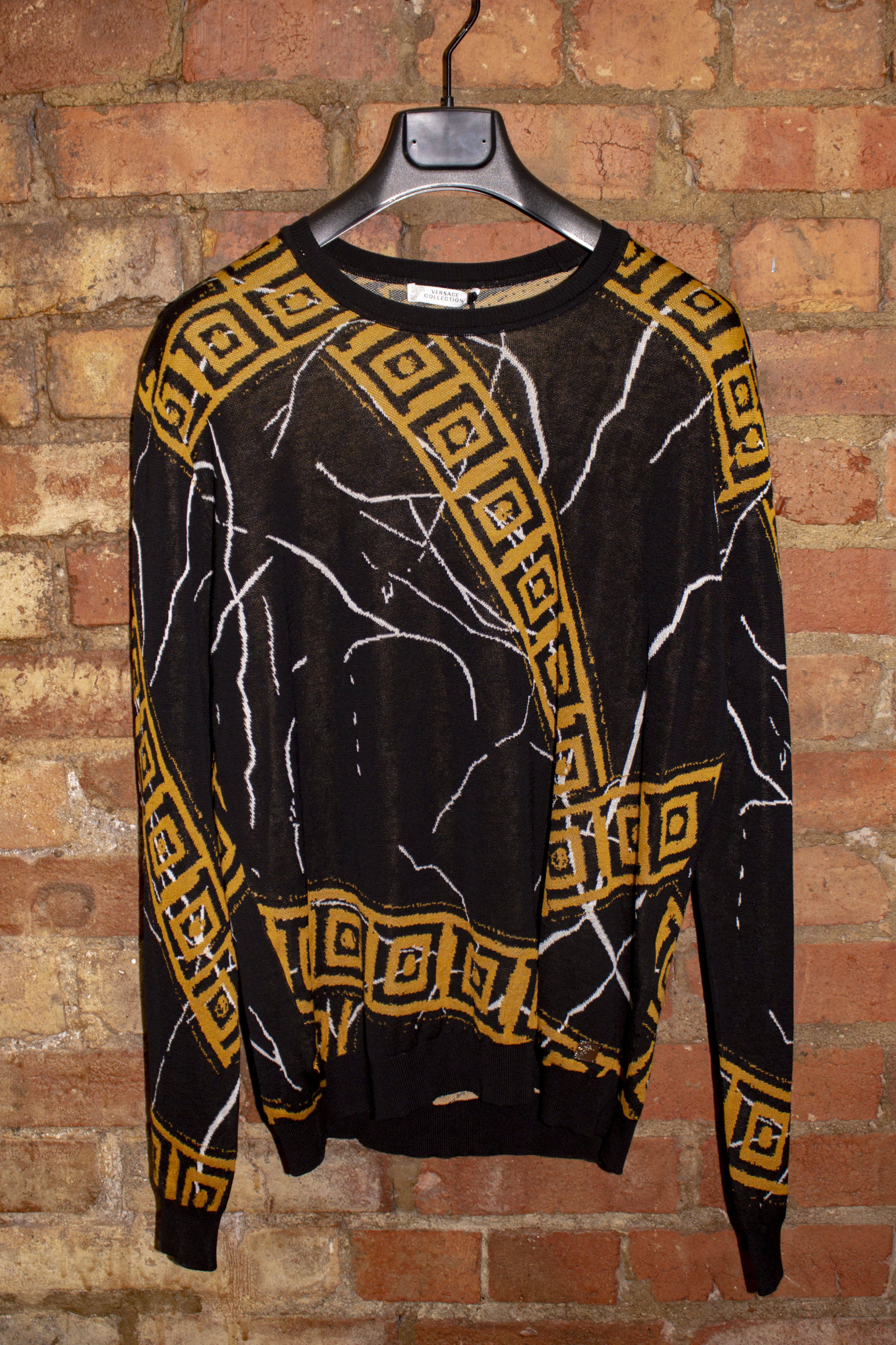 Black and Gold Knitwear