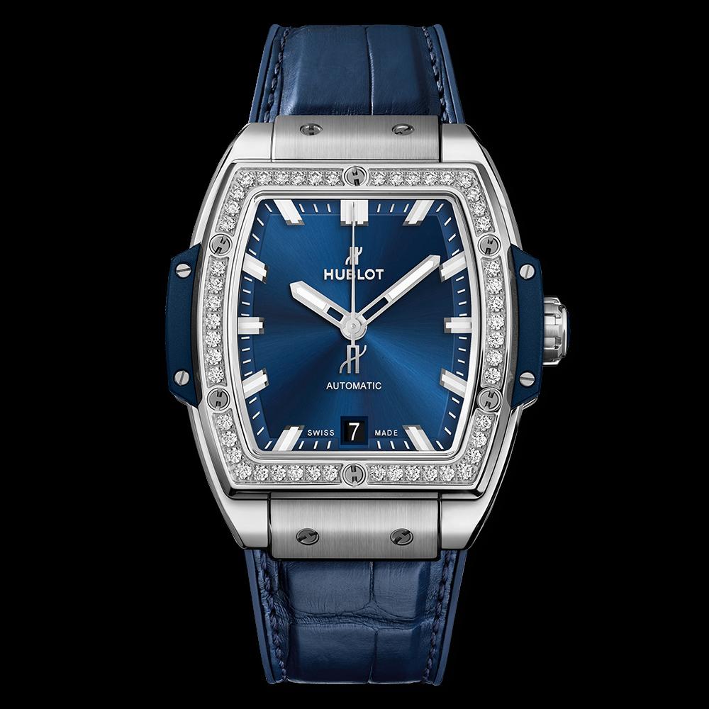 Spirit of Big Bang Titanium Blue Diamonds