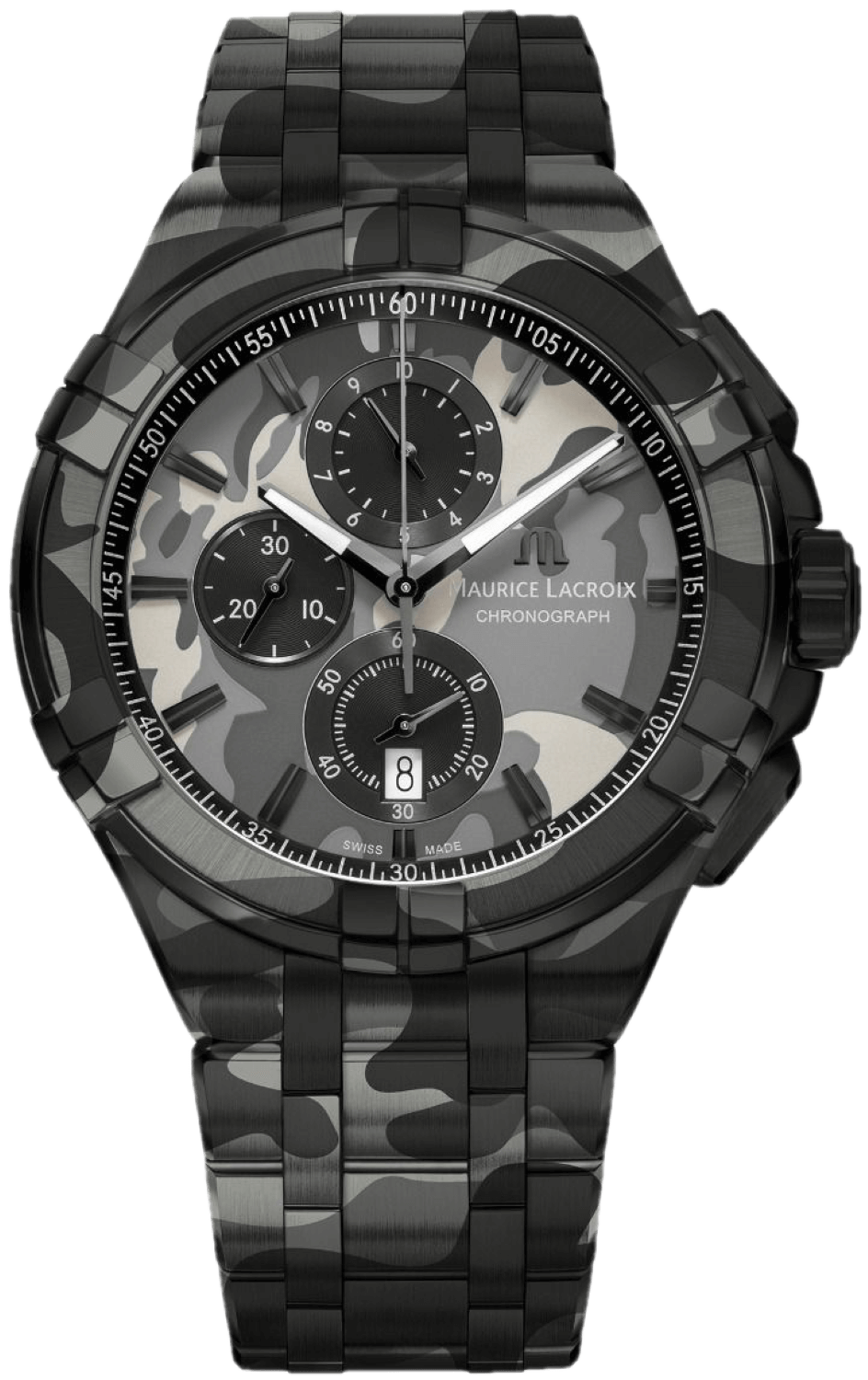 AIKON Chronograph Camouflage 44mm