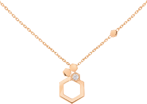 Pendant Bee my Love rose gold