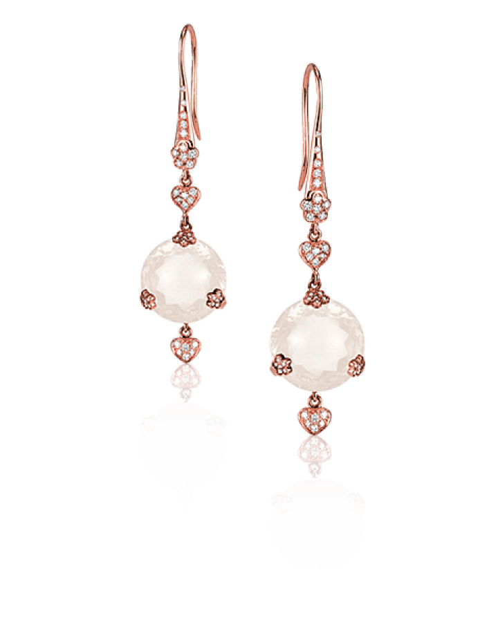 Sissi Earrings with Quartz