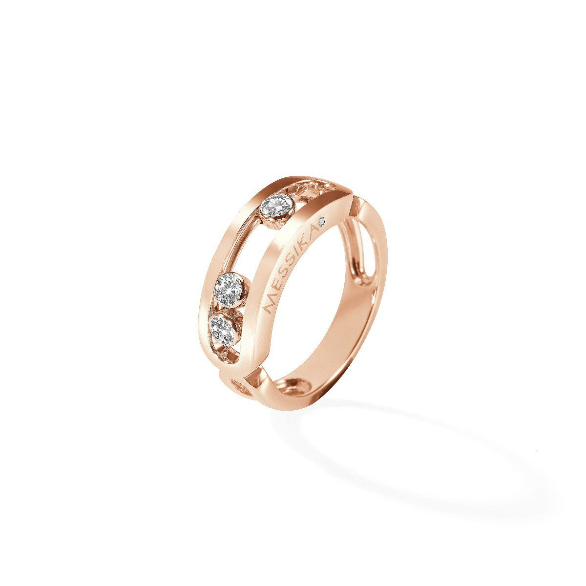 Move Classic Ring Pink Gold