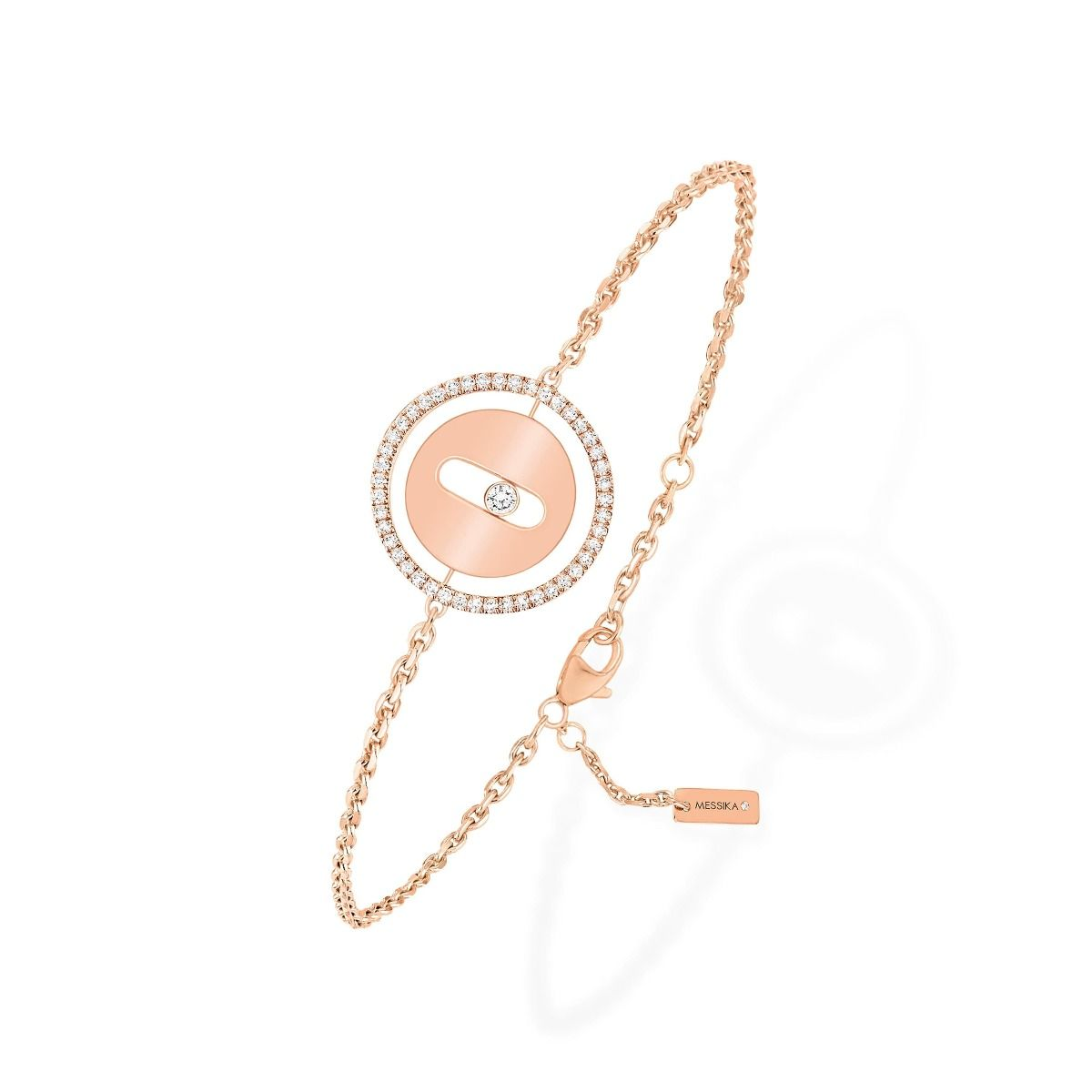 Lucky Move Pm Bracelet - Pink Gold