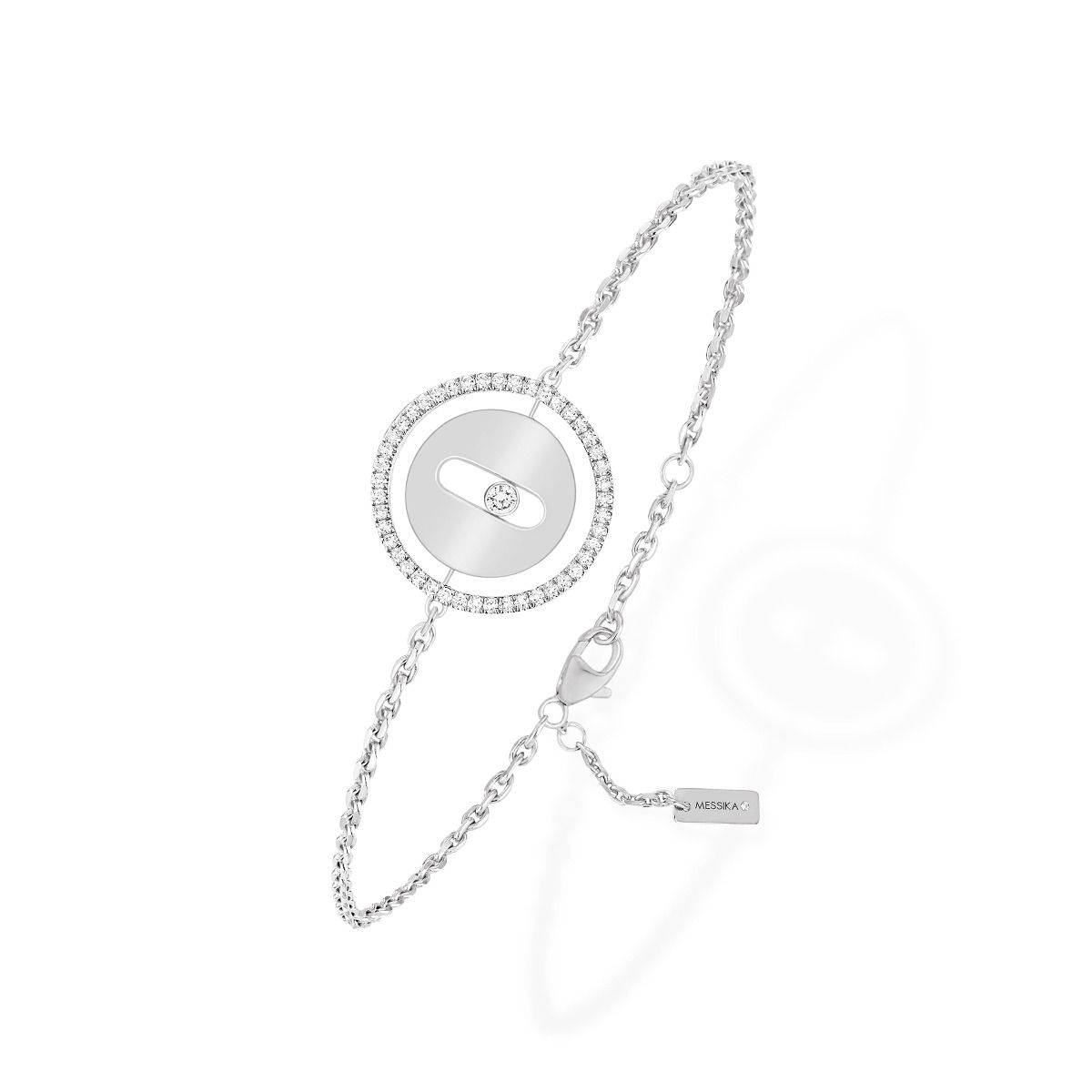 Lucky Move Pm Bracelet - White Gold