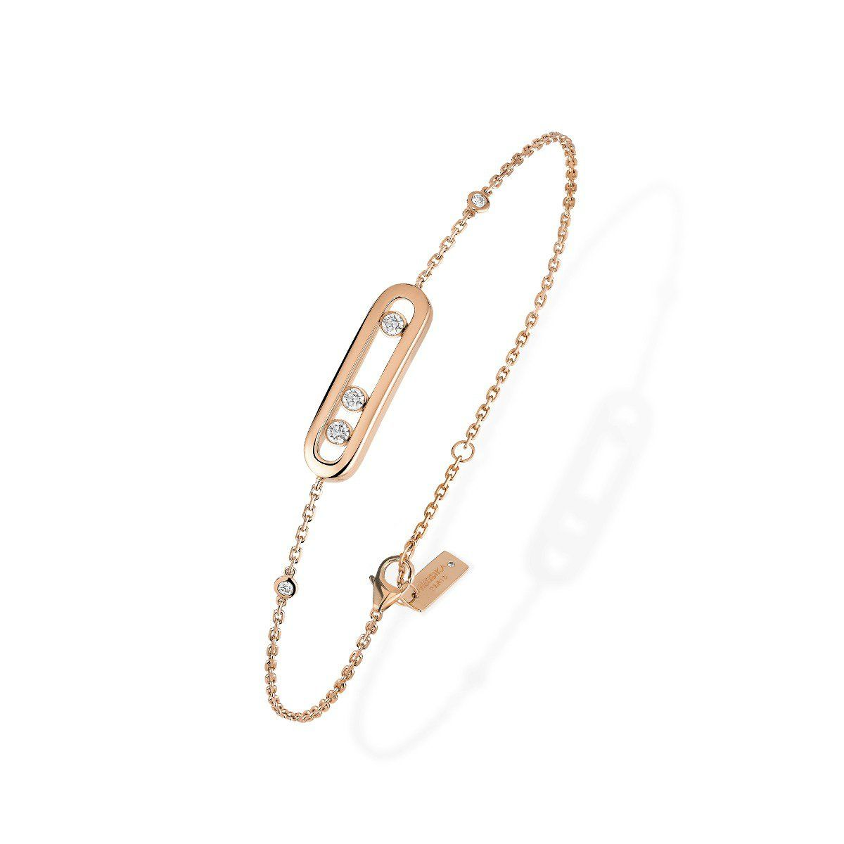 Baby Move Bracelet Pink Gold
