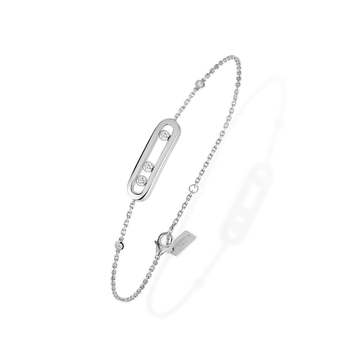 Baby Move Bracelet White Gold