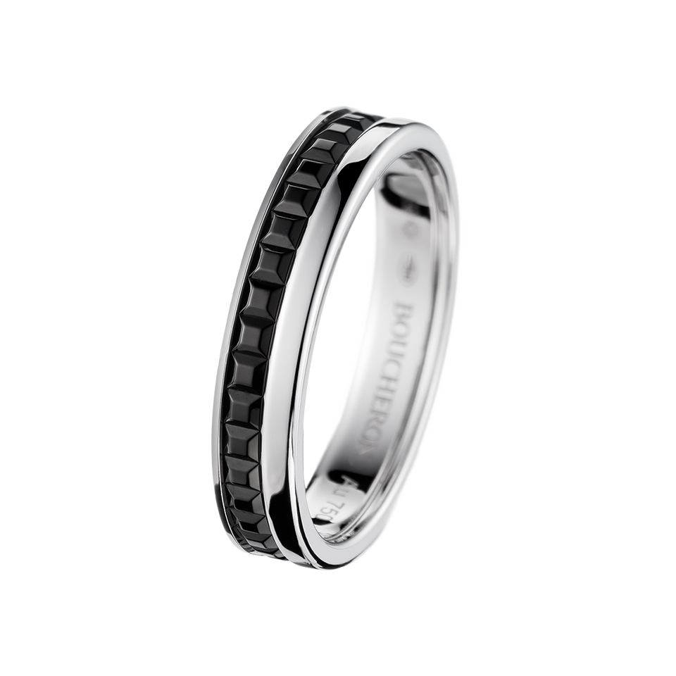QUATRE BLACK EDITION WEDDING BAND