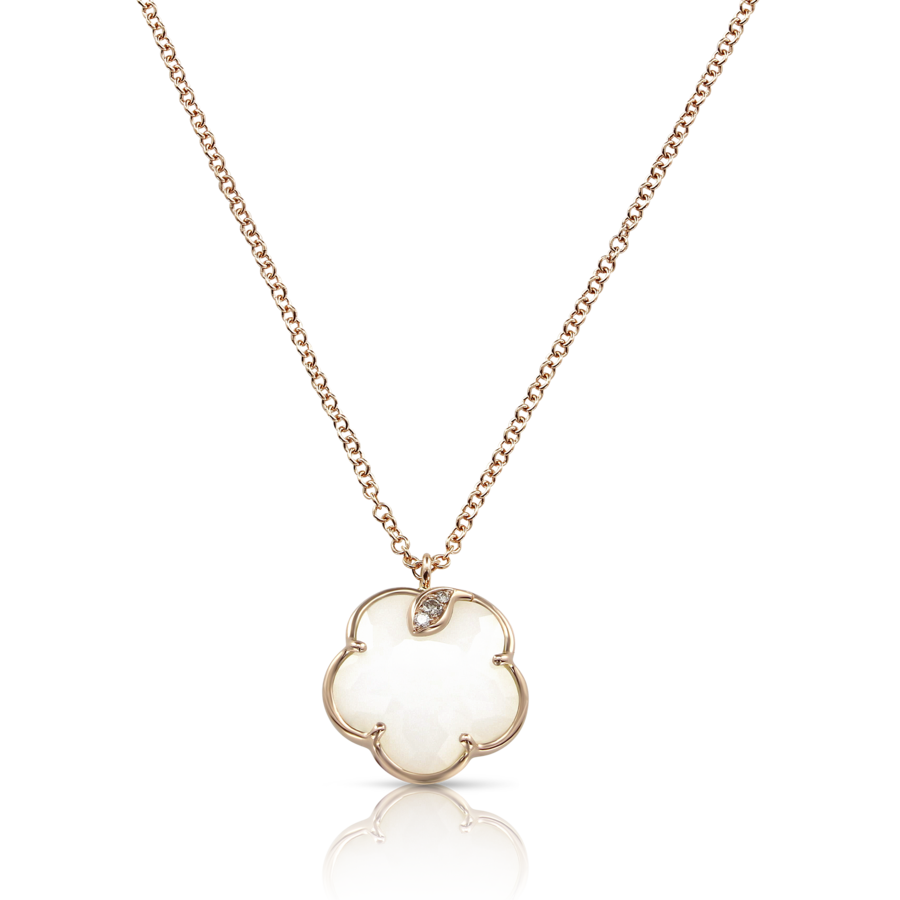 Necklaces Petit Joli' White Agate