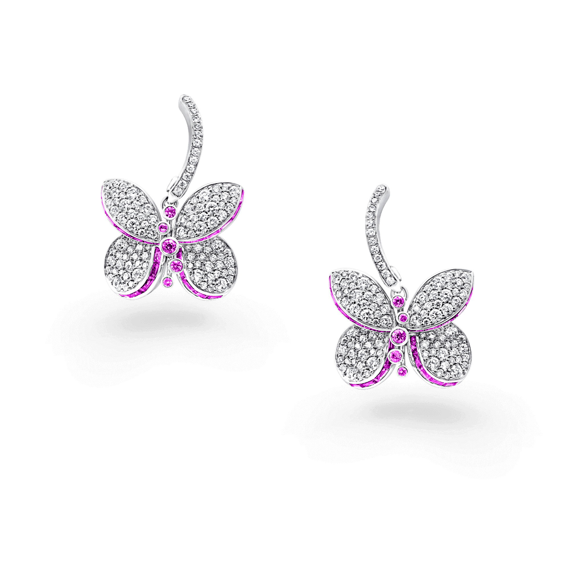 Earrings Baby Princess Butterfly