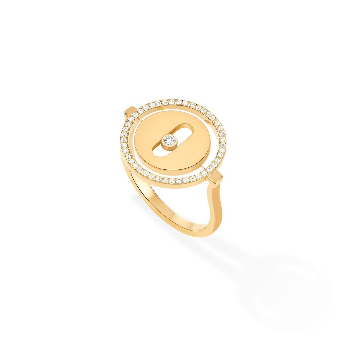 Lucky Move Pm Ring - Yellow Gold