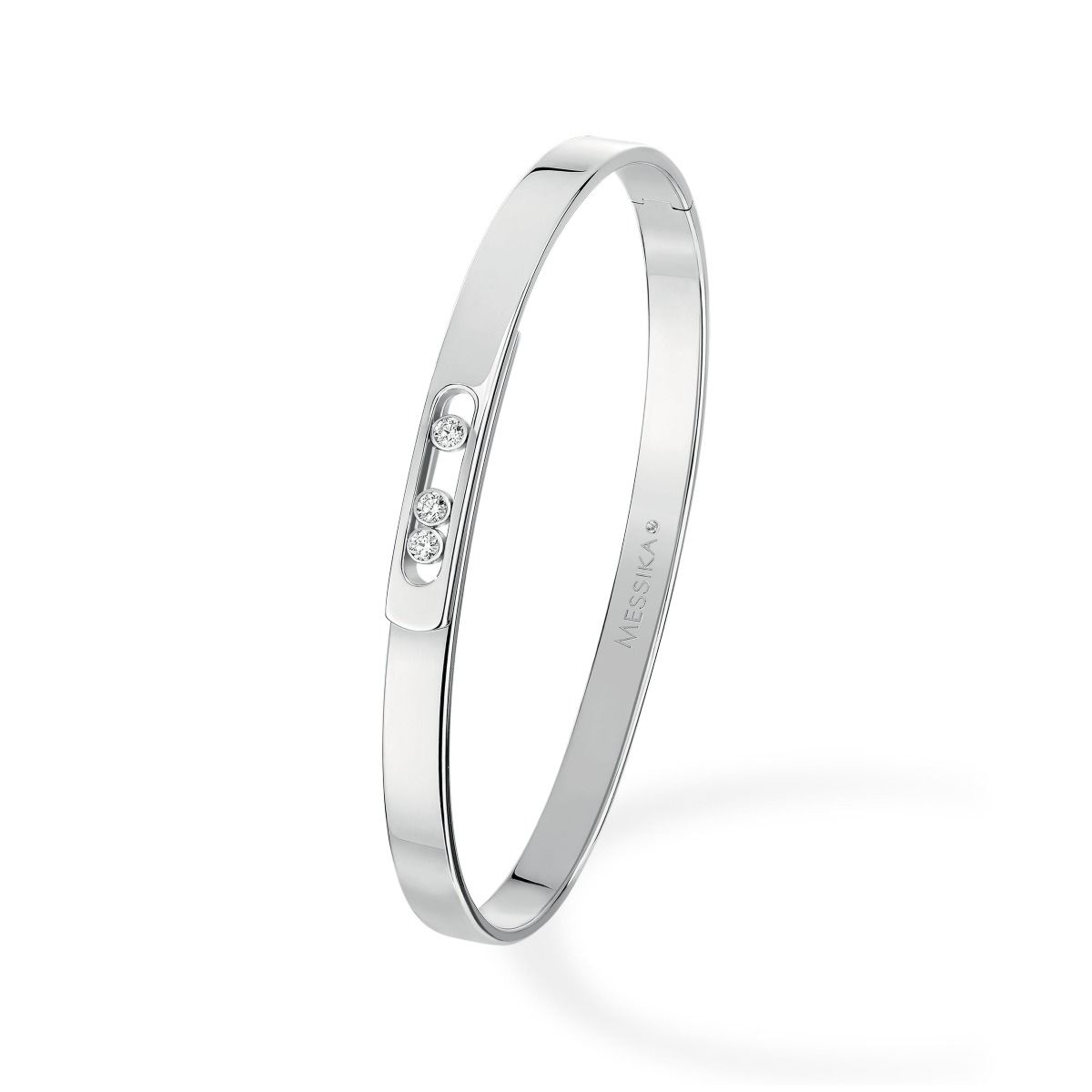 Move Noa Bangle PM BRACELET - WHITE GOLD