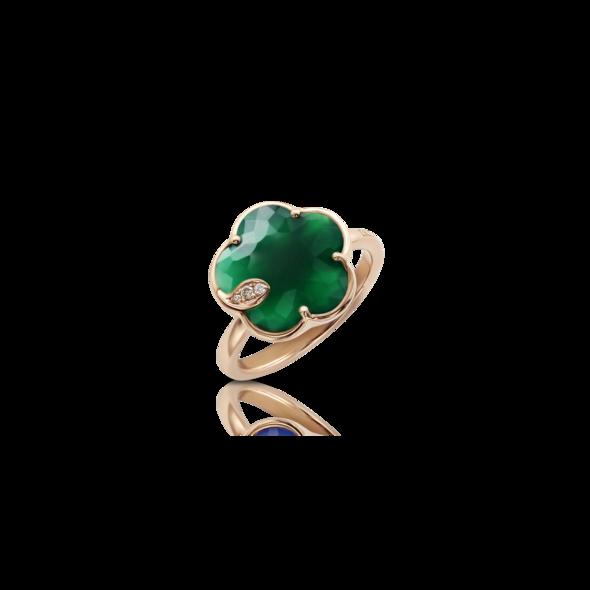 Ring Petit Joli' Green Agate