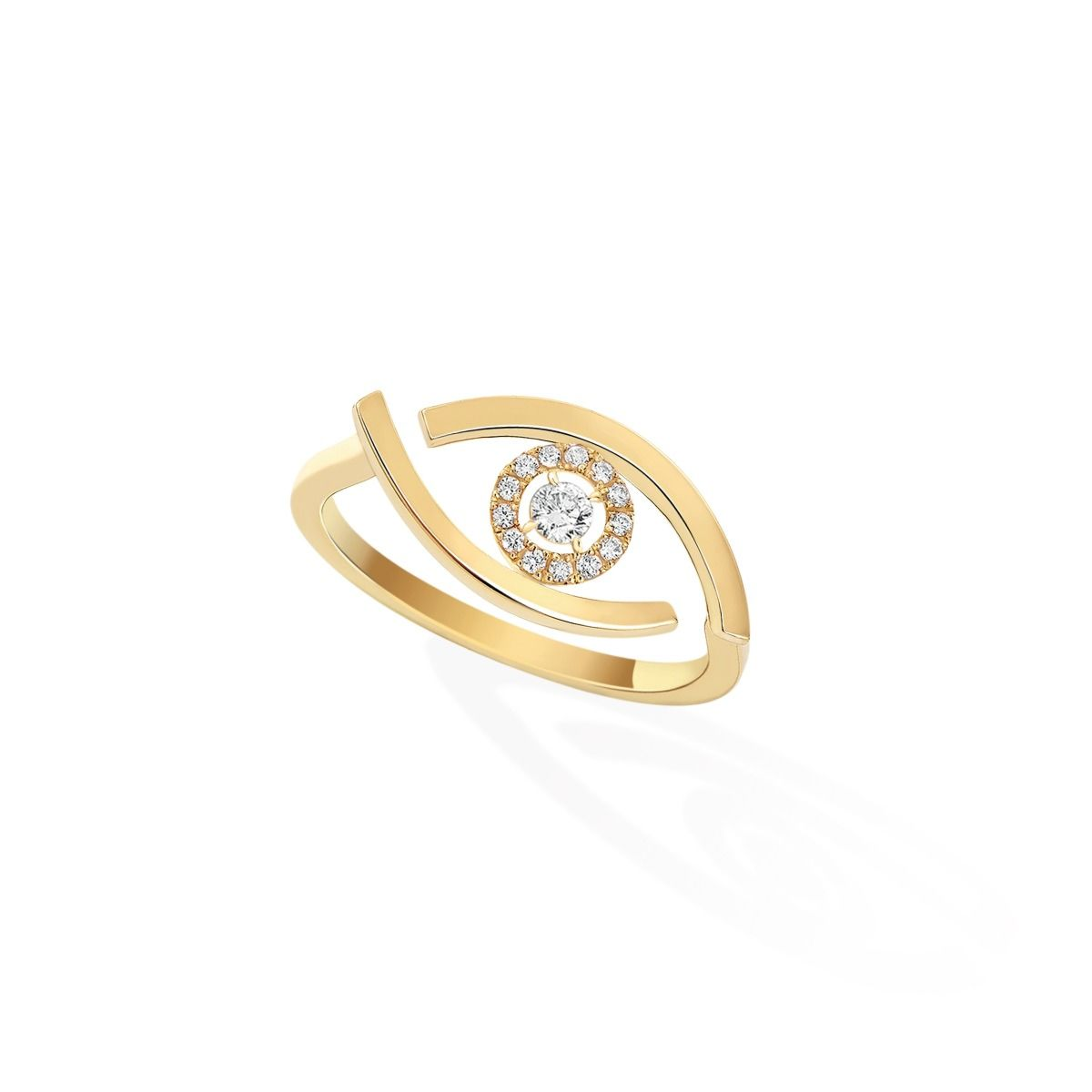 Lucky Eye RING - YELLOW GOLD