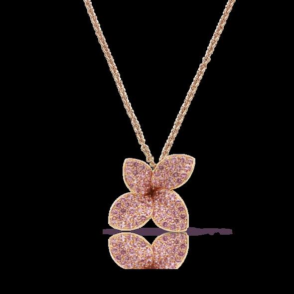 Necklaces Petit Garden Pink Sapphires