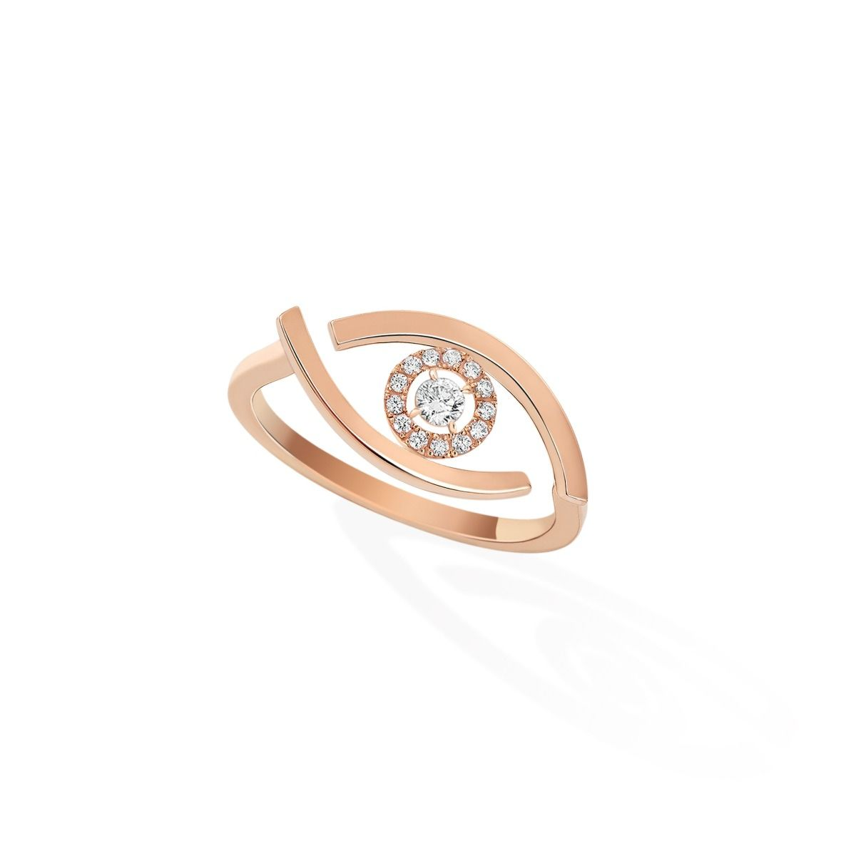 Lucky Eye RING - PINK GOLD