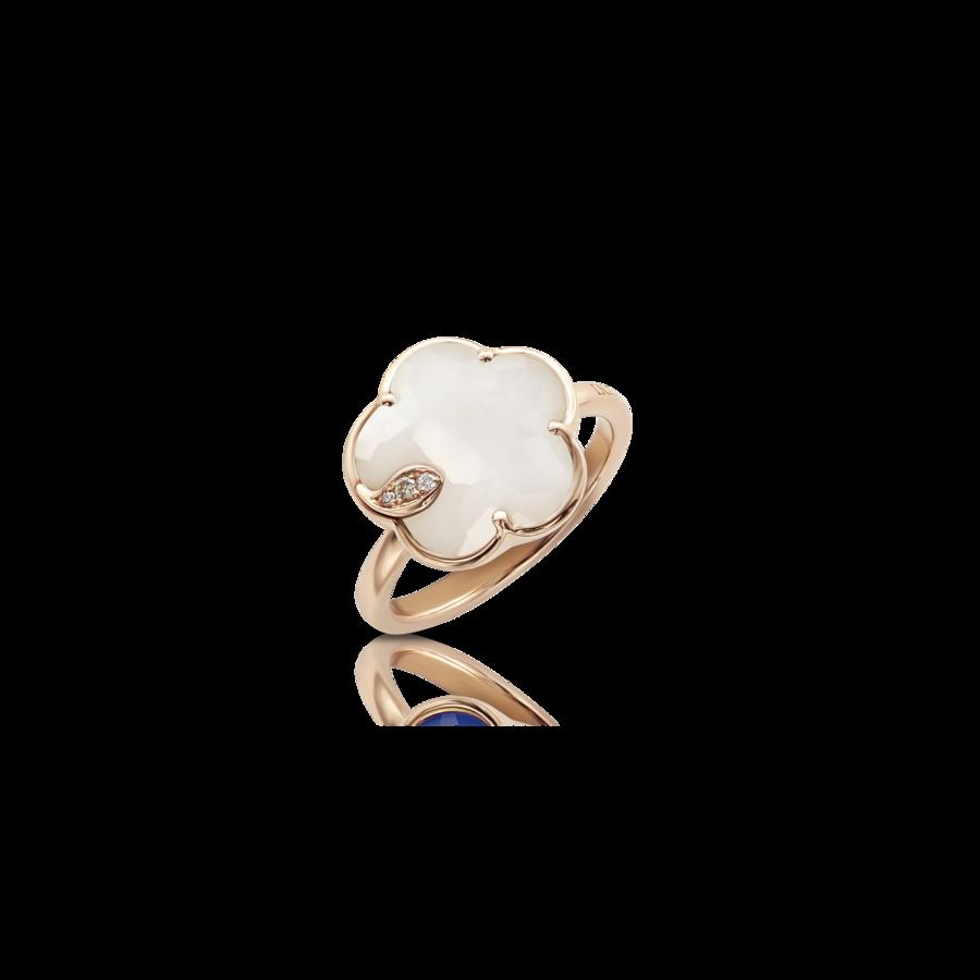 Ring Petit Joli' White Agate
