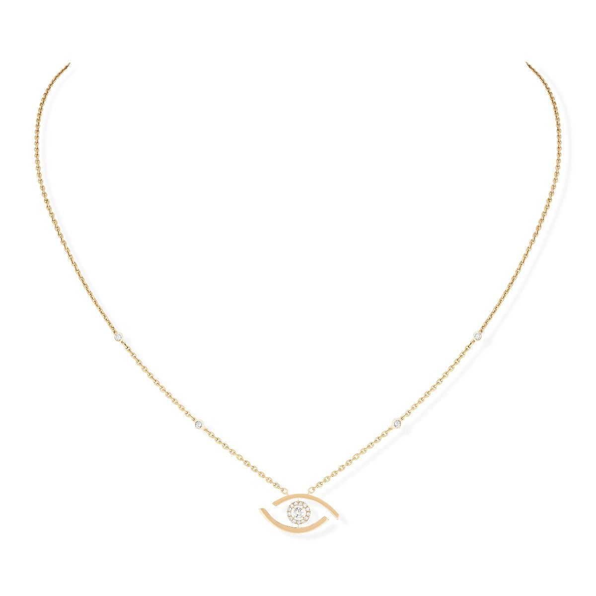 Lucky Eye Necklace - Yellow Gold
