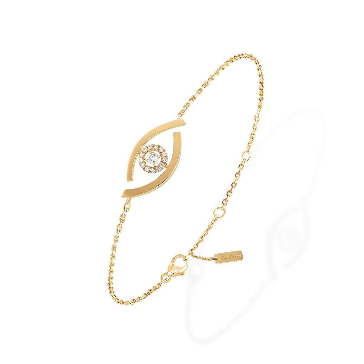 Lucky Eye BRACELET - YELLOW GOLD