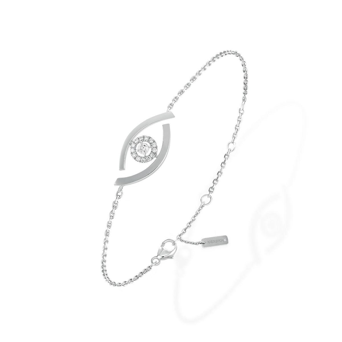 Lucky Eye BRACELET - WHITE GOLD