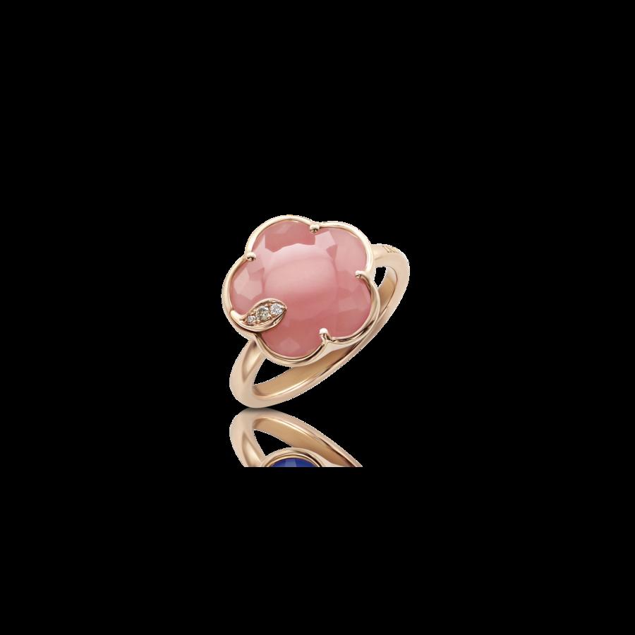 Ring Petit Joli' Pink Chalcedony