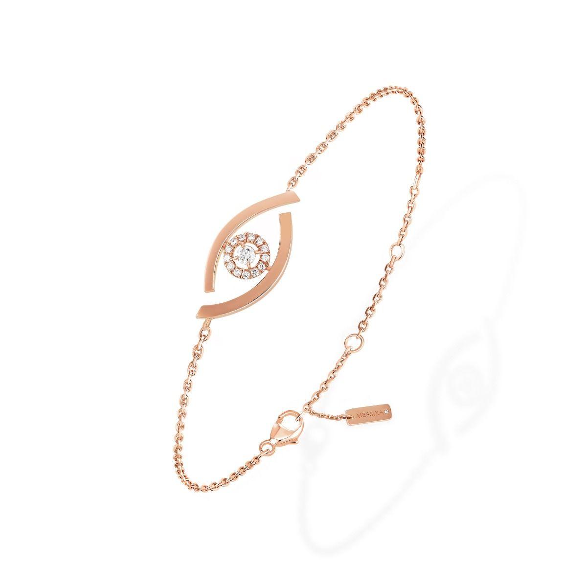 Lucky Eye BRACELET - PINK GOLD