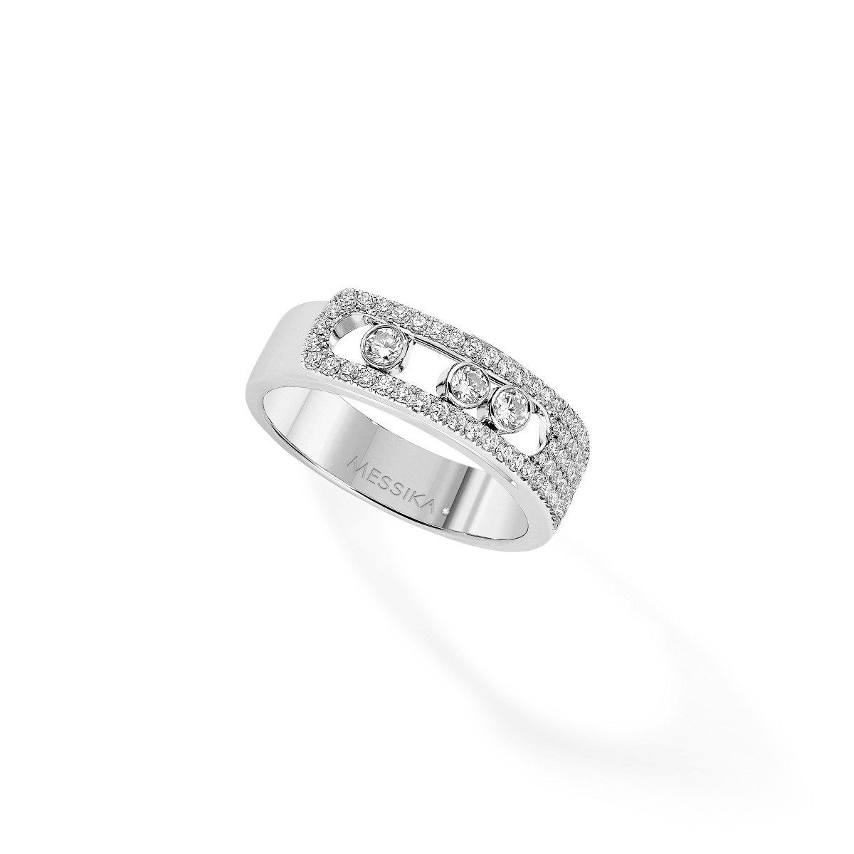 Move Noa Pavé Ring - White Gold