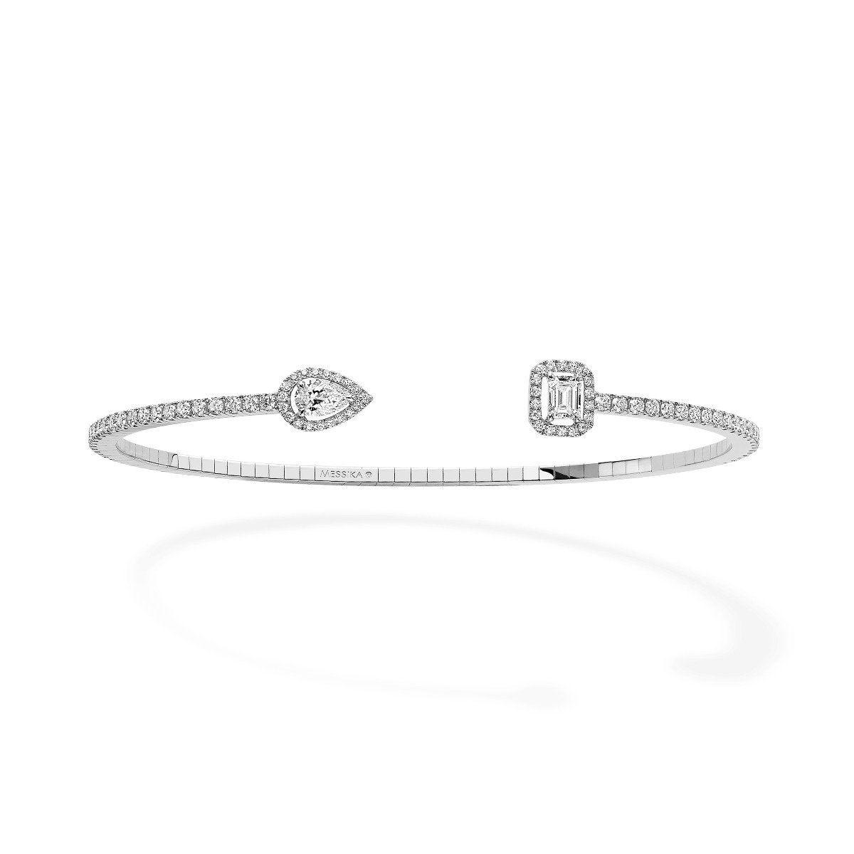 My Twin Skinny 0,15Ct X2 Bracelet - White Gold