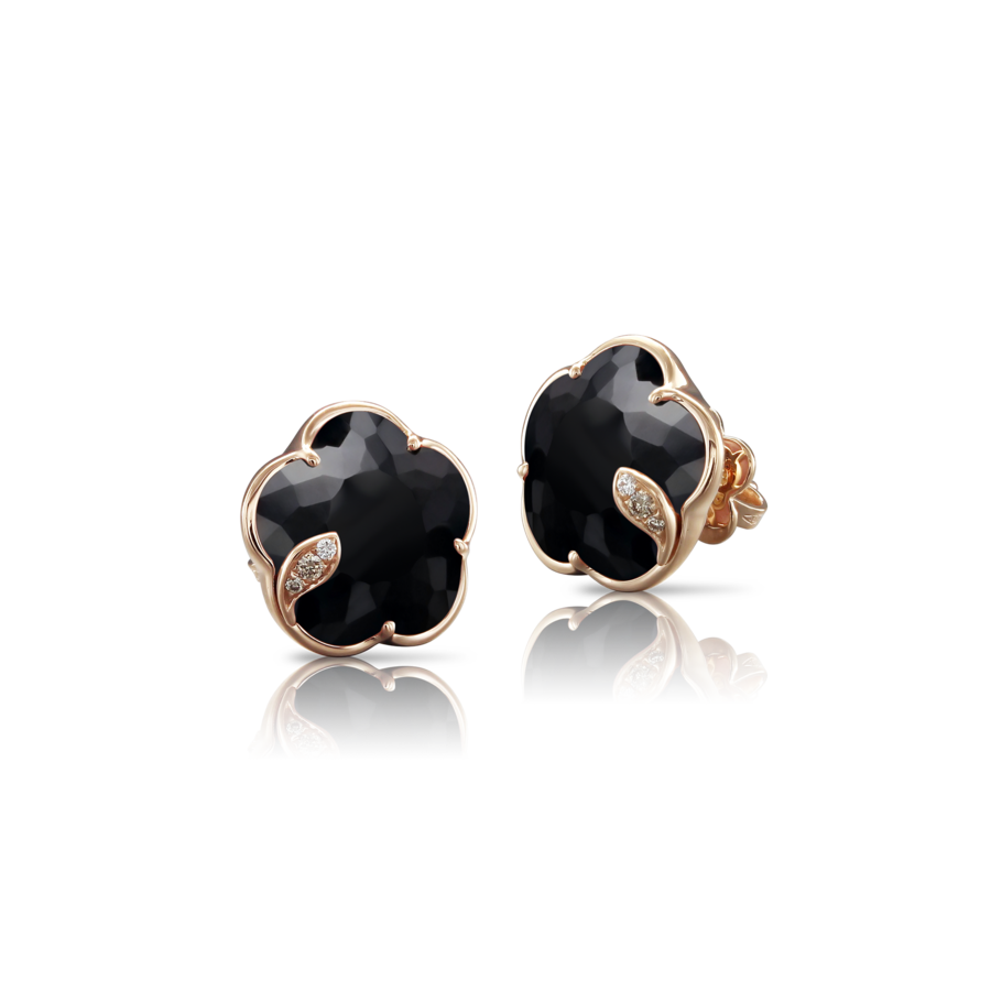 Earrings Petit Joli' Onyx