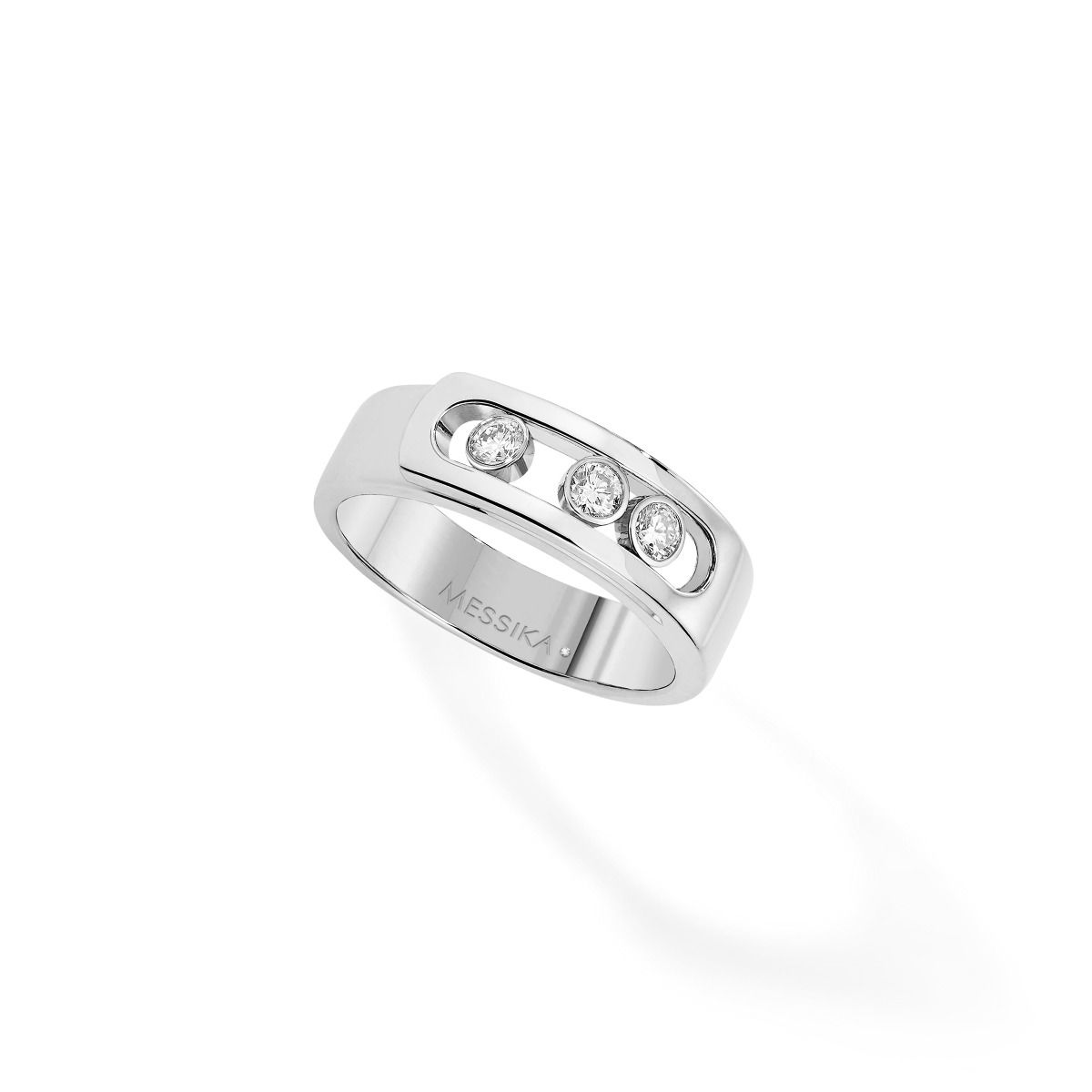 Move Noa Ring - White Gold