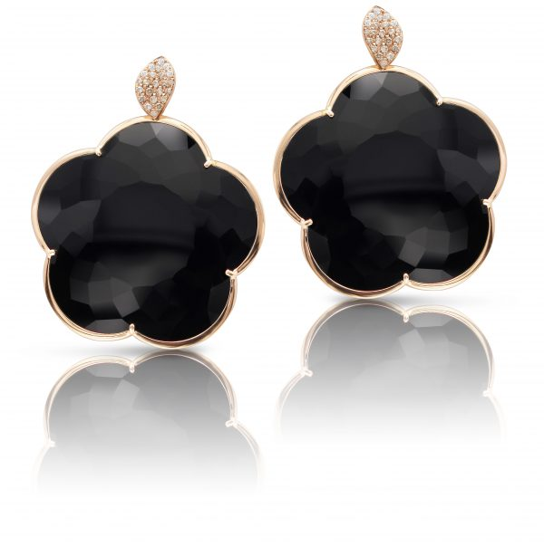 TON JOLI EARRINGS WITH ONYX