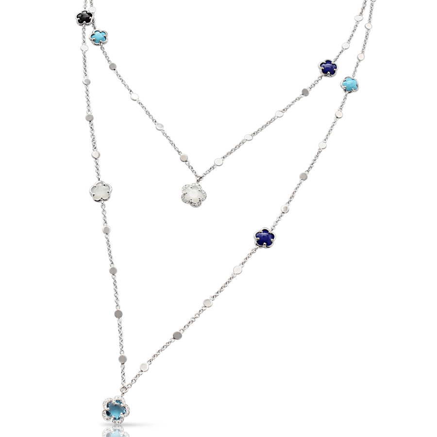 Necklaces Figlia Dei Fiori blue multicolor