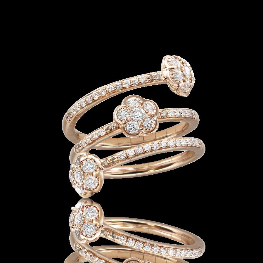 Ring Figlia Dei Fiori diamonds