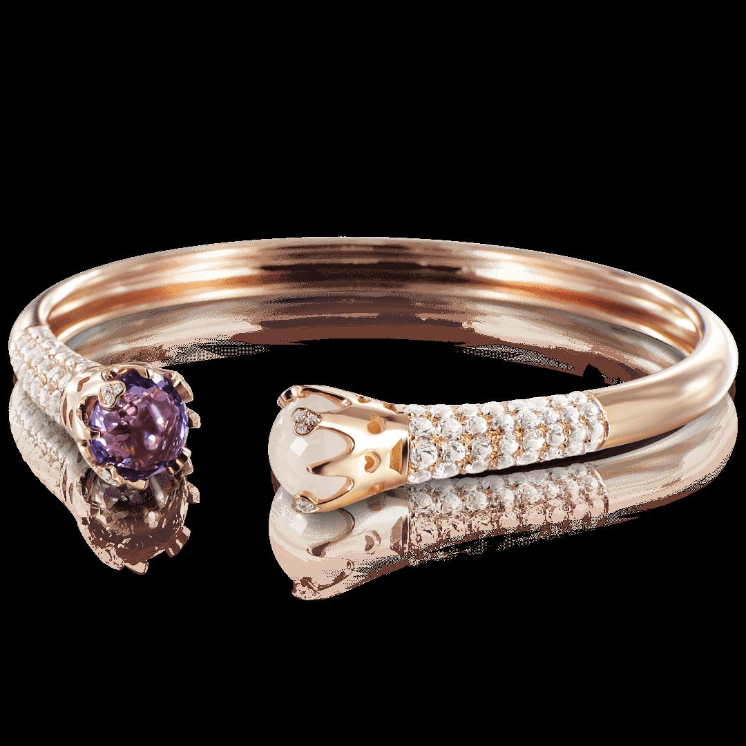 Sissi Bracelet With Amethyst