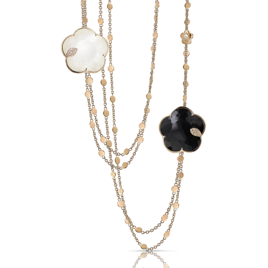Necklace Ton Joli bicolor