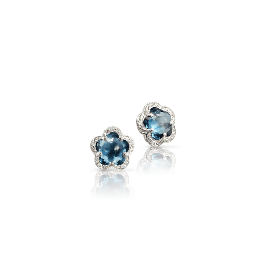 Earrings Figlia Dei Fiori London blue topaz